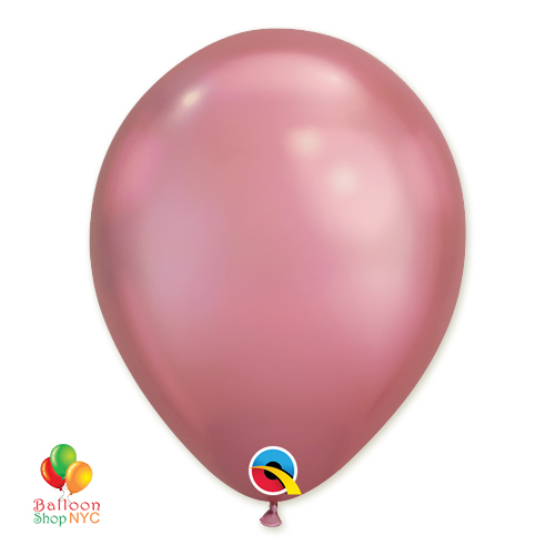 Chrome Mauve Latex Balloon 11 inch delivery from Balloon Shop NYC